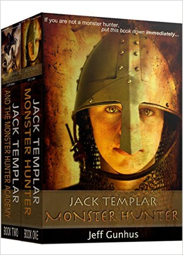 Jack Templar Books 1-2 Boxset by Jeff Gunhus