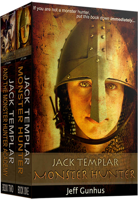 Jack Templar Monster Hunter Box Set Book Cover