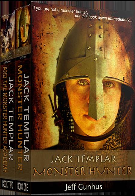 Jack Templar Monster Hunter Box Set Book Cover